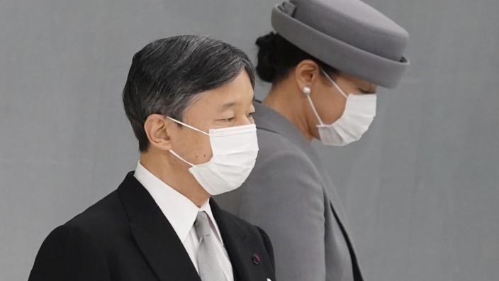 Kaiser Naruhito und Kaiserin Masako, Corona in Japan