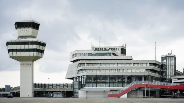 Konferenz zur Zukunft der Städte: Auch der ausgemusterte FlughafensBerlin-Tegel war Spielort für Diskussionen und Vorträge der Konferenz.