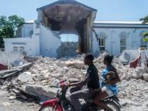 """Erdbeben in Haiti: """"Die Menschen sind stark traumatisiert"""""""