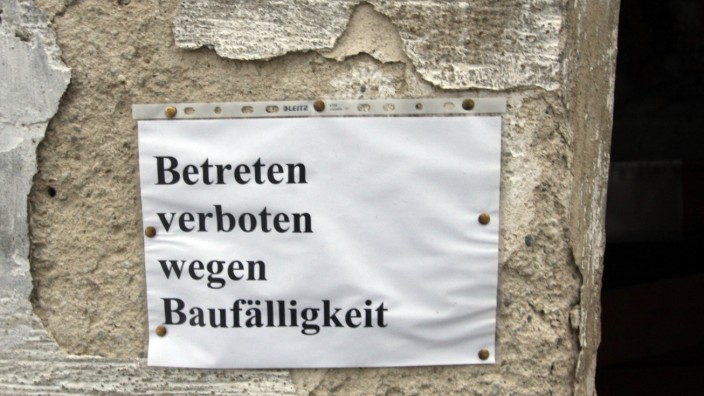 Ungenutzte Gebäude: Bayern besitzt derzeit knapp 3800 Nachlassimmobilien.