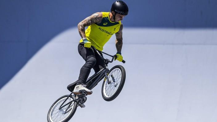 Logan Martin (Aus) BMX FREESTYLE : Finale - Jeux Olympiques - Tokyo 2020 - 01/08/2021 JBAutissier/Panoramic PUBLICATIONx