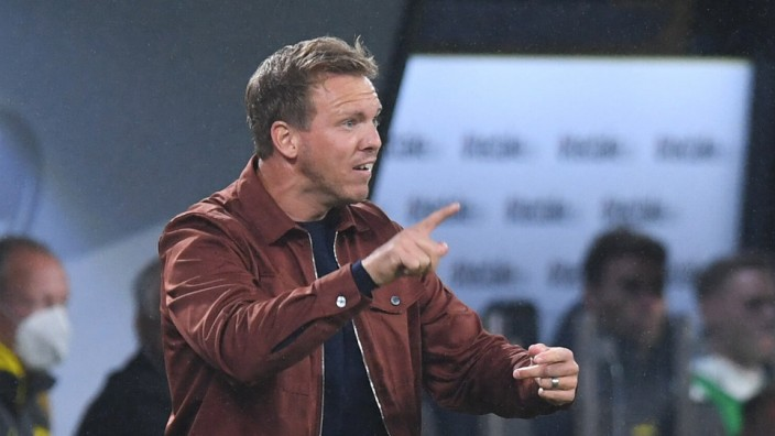 Fußball Supercup FC Bayern München - Borussia Dortmund am 17.08.2021 im Signal Iduna Park in Dortmund Julian Nagelsmann