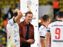 Fussball, Bundesliga, Deutschland, Herren, Saison 2021/2022, Supercup, Signal Iduna Park Dortmund: Bor. Dortmund, BVB (