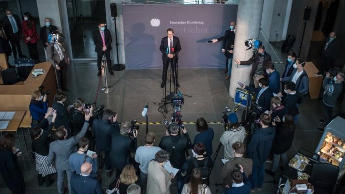 Politik Untersuchungsausschuss PKW-Maut Letzte Sitzung des Untersuchungsausschusses PKW-Maut des Deutschen Bundestag am