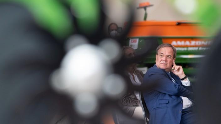 Wahlkampf CDU - Amazonen-Werke