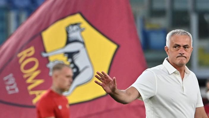 Italienischer Fußball: Nun ein Römer: José Mourinho ist in Italiens Hauptstadt der Zugang der Saison.