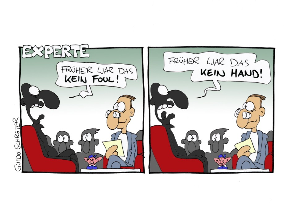 Guido Schröter Fußballgötter Comic