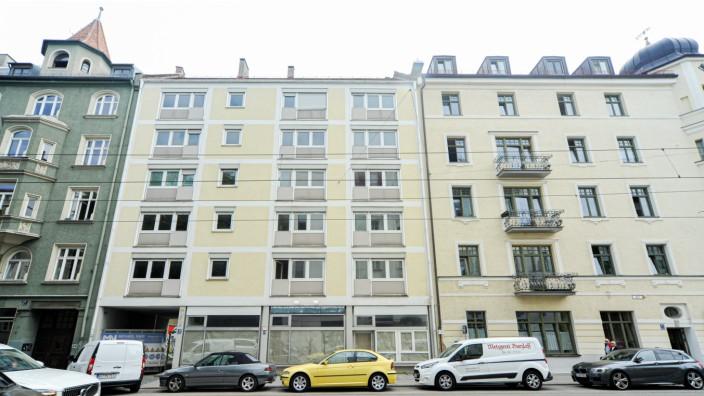 Wohnen in München: Das neue Projekt des Wohnbau-Unternehmens Euroboden, das vor allem bekannt ist für Luxuswohnungen, soll an der Franziskanerstraße 15 entstehen.