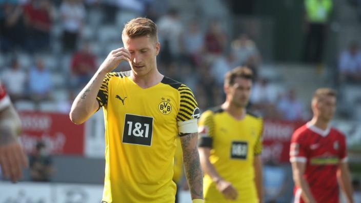 21.08.21 SC Freiburg - Borussia Dortmund Deutschland, Freiburg, 21.08.2021, Fussball, Bundesliga, SC Freiburg - Borussia