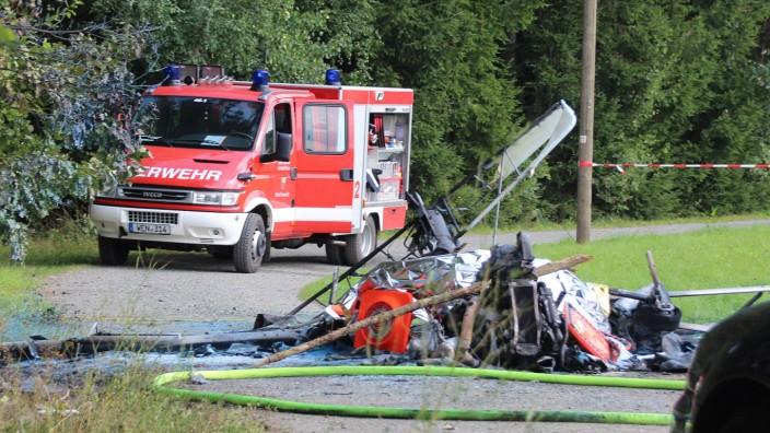 Pilot stirbt bei Unfall mit Leichtflugzeug