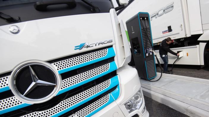 Elektro-Lkw von Daimler Truck