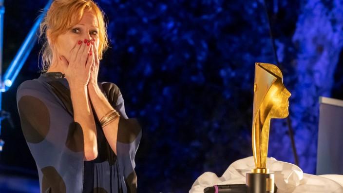 Fünfseen-Filmfestival: Ein Höhepunkt des Festivals: Birgit Minichmayr bekam den Hannelore-Elsner-Schauspielpreis verliehen.