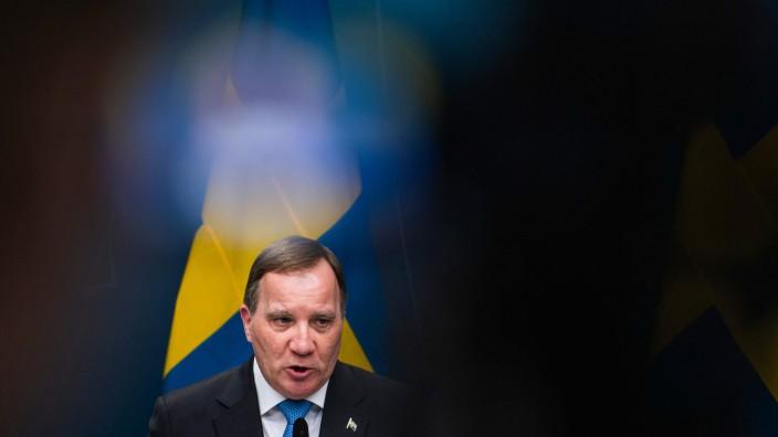 Schweden: Am Ende seines Geschicks: Schwedens Ministerpräsident Stefan Löfven