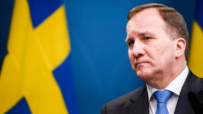Schwedischer Regierungschef Löfven kündigt Rücktritt an