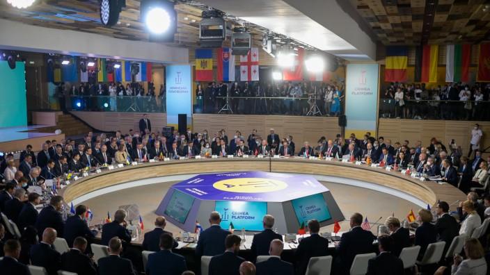 Krim-Gipfel in der Ukraine