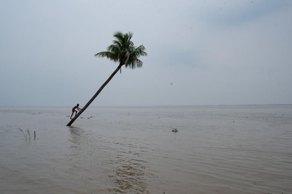 Flusserosion in Bangladesch