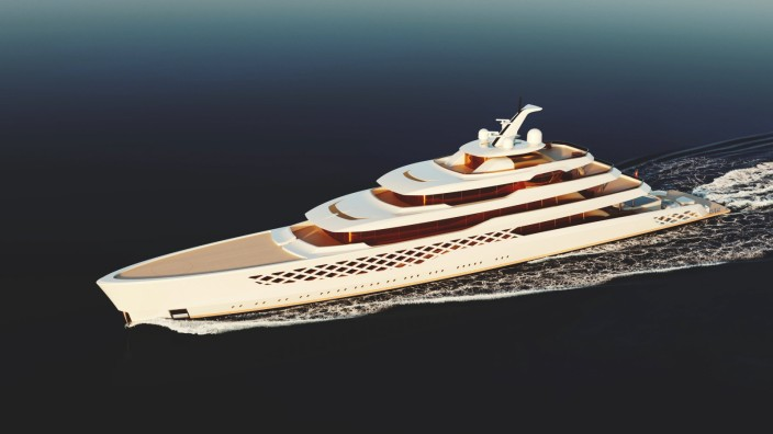 Have you ever wondered what a yacht inspired by both Freddie Mercury and Forrest Gump would look like? Wonder no more, a