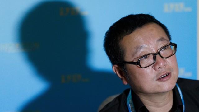 Comics: Wie politisch ist seine Science Fiction? Der chinesische Autor Cixin Liu.