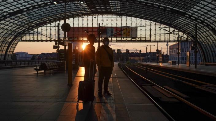 Lokführer-Streik bei der Deutschen Bahn - Berlin