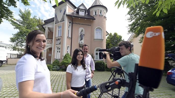 SZ-Serie: Wer wohnt denn da?: Die Villa Franziska dient manchmal als Kulisse für Filmaufnahmen.