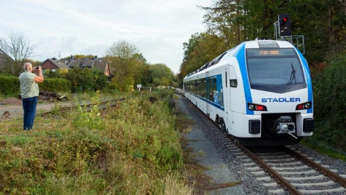 Neue batteriebetriebene Triebwagen für Schleswig-Holstein