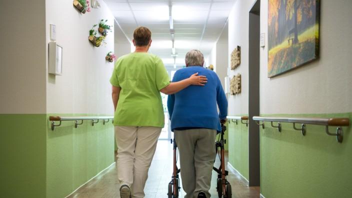 Seniorenheim in der Corona-Pandemie