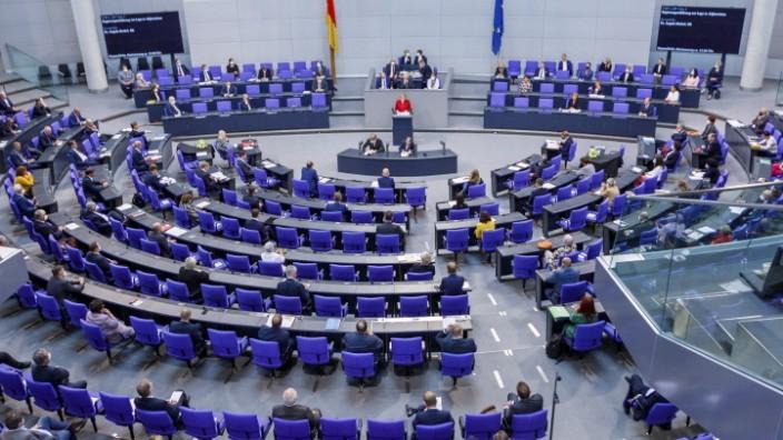 Regierungserklärung der Bundeskanzlerin Angela Merkel zur Lage in Afghanistan. Deutschland, Berlin am 25.08.2021: Regie