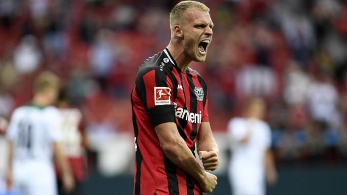 GER, 1.FBL, Bayer 04 Leverkusen vs Borussia Moenchengladbach / 21.08.2021, BayArena, Leverkusen, GER, 1.FBL, Bayer 04 L
