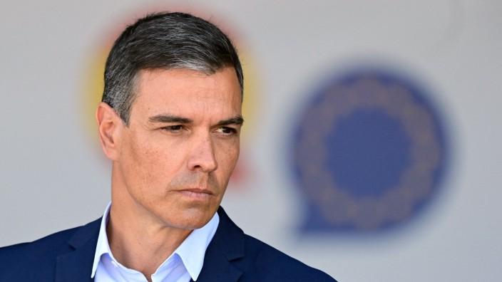 Krise in Ceuta: Wegen der Krise in Ceuta in Bedrängnis: Spaniens Premier Pedro Sánchez.