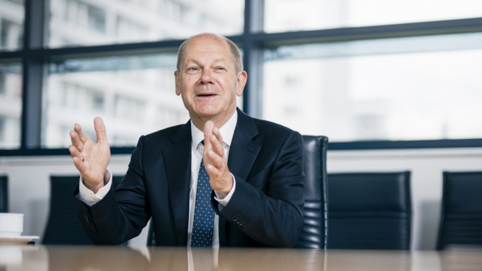 Olaf Scholz Interview SZ