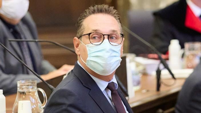 Trial against Heinz Christian Strache for corruption begins in Vienna