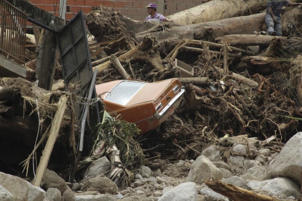 Überschwemmungen in Venezuela