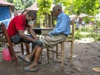 Nach Erdbeben: EU schickt humanitäre Hilfe per Luftbrücke nach Haiti