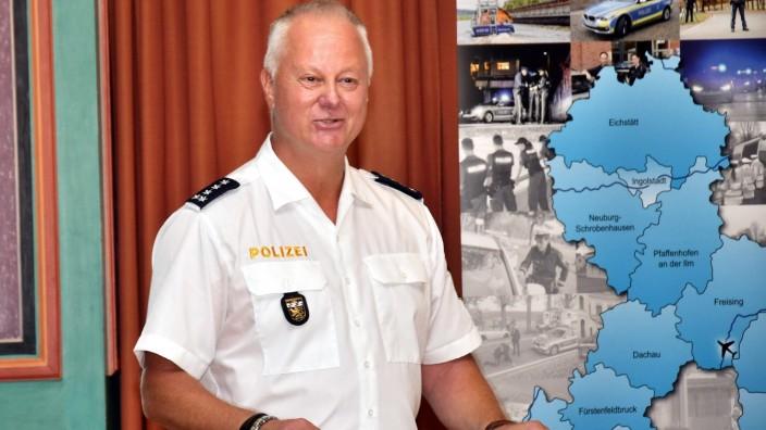Reden wir über: Leiter der Polizeiinspektion Dorfen Harald Kratzel.