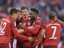 28.08.2021, Fussball 1. Bundesliga 2021/2022, 3. Spieltag, FC Bayern München - Hertha BSC Berlin, in der Allianz-Arena M