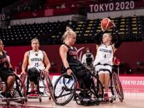 Tokyo 2020 Paralympic Games (Rollstuhlbasketball), 28.08.2021 TOKYO, JAPAN 28. August - Rollstuhlbasketball, Deutschlan