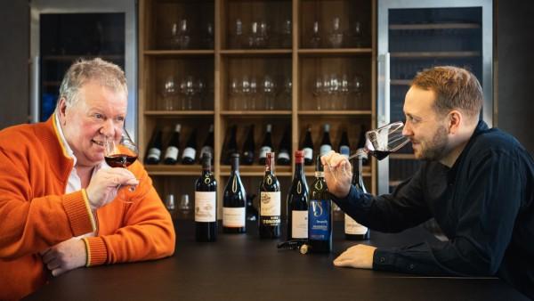 Pressebild: Heiner und Luca Lobenberg, Gute Weine