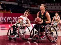 Tokyo 2020 Paralympic Games (Rollstuhlbasketball), 29.08.2021 TOKYO, JAPAN 29. August - Rollstuhlbasketball, Japan gege