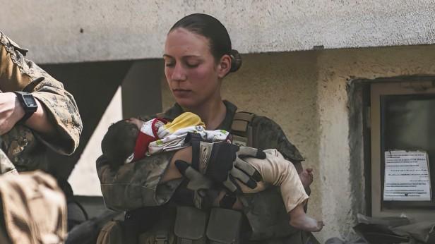 Konflikt in Afghanistan - getötete US-Soldatin Nicole Gee