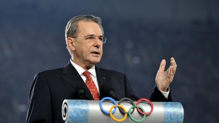 IOC-Präsident Rogge kandidiert für zweite Amtsperiode