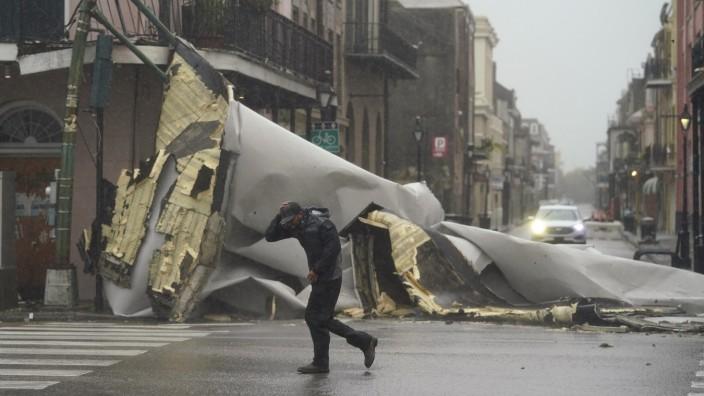 """SZ am Morgen: Vor gut zwei Wochen hat Hurrikan """"Ida"""" in den USA schwere Schäden verursacht - wie hier in New Orleans."""