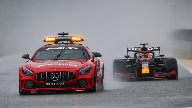 F1 Safety Car, Mercedes-AMG GT R, 33 Max Verstappen (NED, Red Bull Racing), F1 Grand Prix of Belgium at Circuit de Spa-F