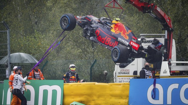11 Sergio Perez (MEX, Red Bull Racing), F1 Grand Prix of Belgium at Circuit de Spa-Francorchamps on August 29, 2021 in