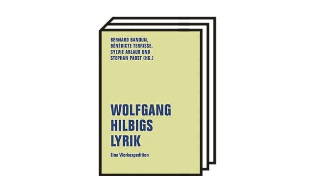 Wolfgang Hilbig in der Forschung: Banoun, Bernard u.a. (Hg): Wolfgang Hilbigs Lyrik. Eine Werkexpedition. Verbrecher Verlag, Berlin 2021. 479 Seiten, 26 Euro.