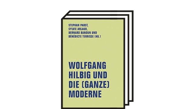 Wolfgang Hilbig in der Forschung: Pabst, Stephan u.a. (Hg.): Wolfgang Hilbig und die (ganze) Moderne. Verbrecher Verlag, Berlin 2021. 335 Seiten, 24 Euro.