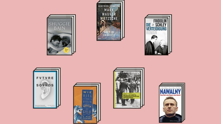 Bücher des Monats: Buchcover des Monats.