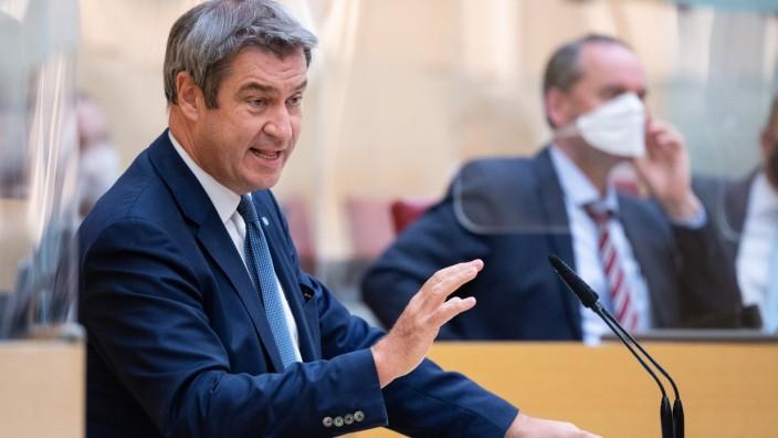 Sondersitzung Landtag Bayern