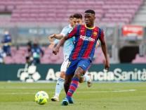 May 16, 2021, Barcelona, Spain: Ilaix Moriba of FC Barcelona, Barca during the Liga Santander match between FC Barcelon