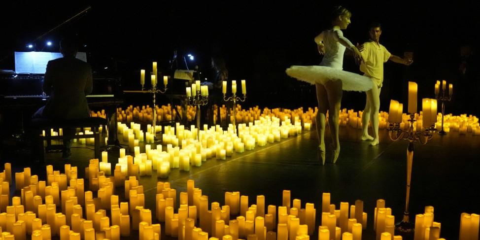 Konzert bei Kerzenschein