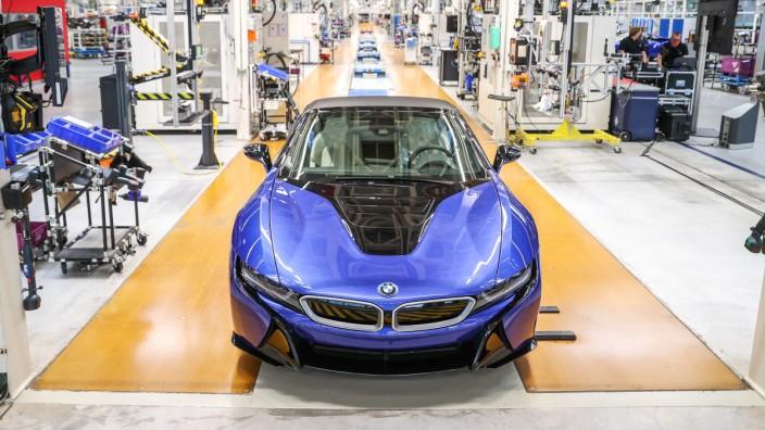 Der letzte BMW i8 läuft vom Band